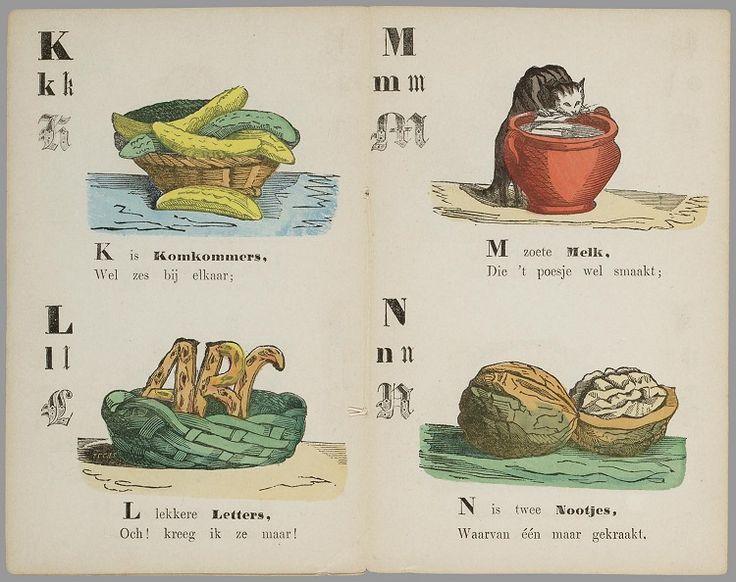 Smakelijk eten : abc-boekje voor lieve kinderen (1867)