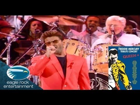 ▶ Queen & George Michael - Somebody to Love  ~ (The Freddie Mercury Tribute Concert) - YouTube ... So Brilliant