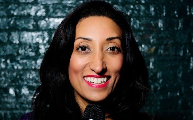 Horny jihadi brides and pubes: Meet Brit Muslim comedian Shazia Mirza - Telegraph