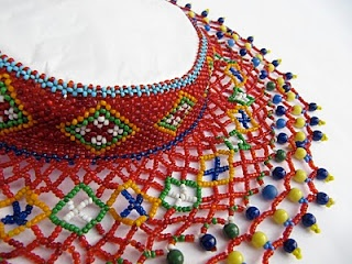 Ukrainian beadwork necklace