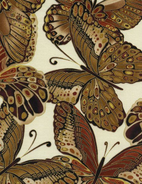 Amazon.com: Timeless Treasures Shimmer Butterflies Quilt Fabric Fat Quarter: Arts, Crafts & Sewing