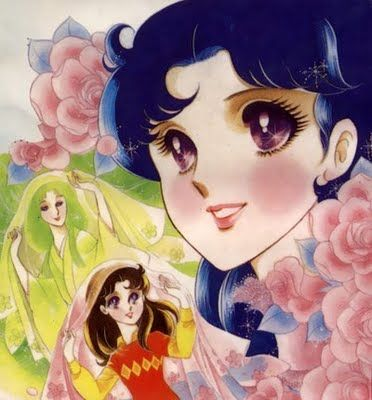 Glass Mask by Suzue Miuchi. A story of a plain girl's drive to do whatever it takes to perform on stage.
