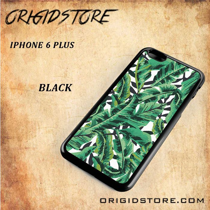 Tropical Banana Leaf For Iphone 6 Plus Case - Gift Present Multiple Choice