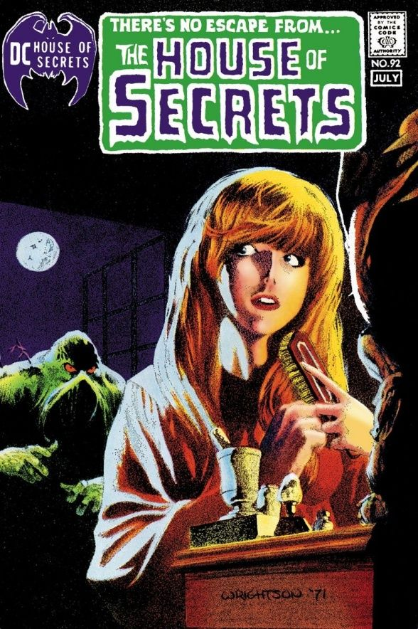 DC HORROR: HOUSE OF SECRETS VOL. 1 HC - Cover by BERNIE WRIGHTSON