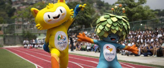 Jeux Olympiques Rio 2016 mascotte deguisement adultes costumes