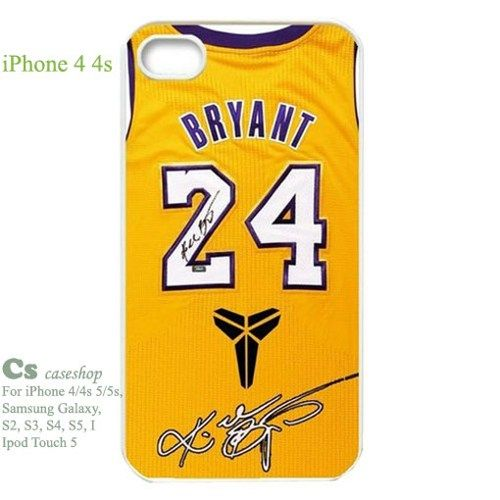 Los Angeles Lakers Kobe Bryant jersey Case for Iphone 4 4s | 5STAR - Accessories on ArtFire