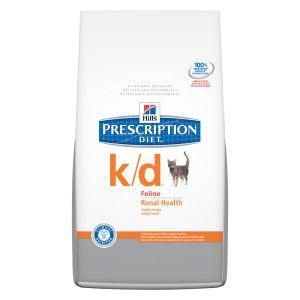 Hill's® Prescription Diet® k/d Renal Health Adult Cat Food   Dry Food   PetSmart  4lbs $23.99 8.5lbs $42.29