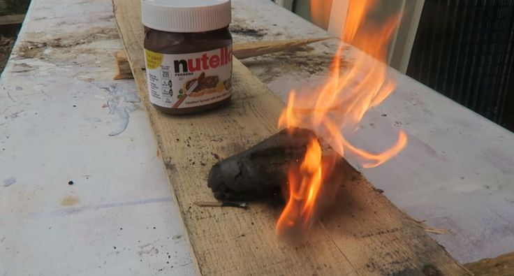 Nutella Makes For a Deliciously Excellent Firestarter