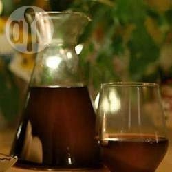 Ponche caliente de vino con fruta @ allrecipes.com.mx