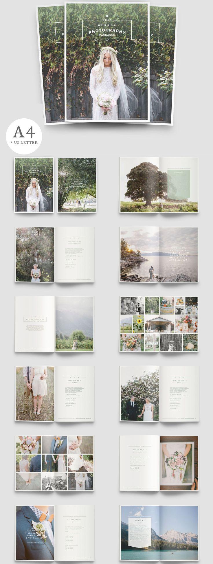 W A N D E R E R S A beautiful multipurpose brochure for photographers! Clean…