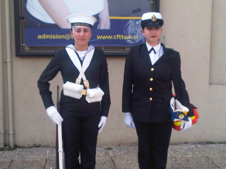 La armada Chilena.