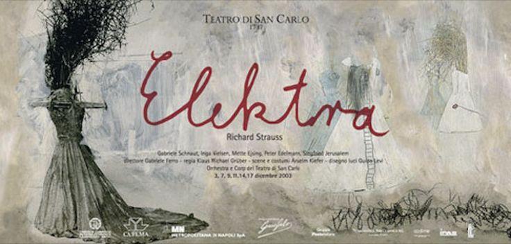 """""""#Elektra"""" #Teatro San Carlo #Napoli La #tragedia in un #atto di Richard #Strauss su #libretto di Hugo von Hofmannsthal (da #Sofocle)   #opera"""