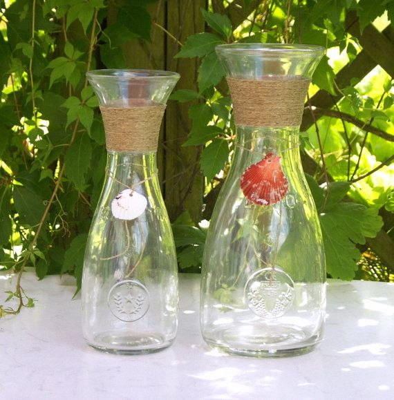Maritime Wine Carafe by ForMomentsinTime on Etsy