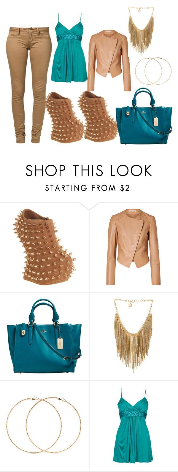 """Untitled #498"" by svhs2019 ❤ liked on Polyvore featuring Jeffrey Campbell, Michael Kors, Coach, BCBGMAXAZRIA, Forever 21 and Monkee Genes"