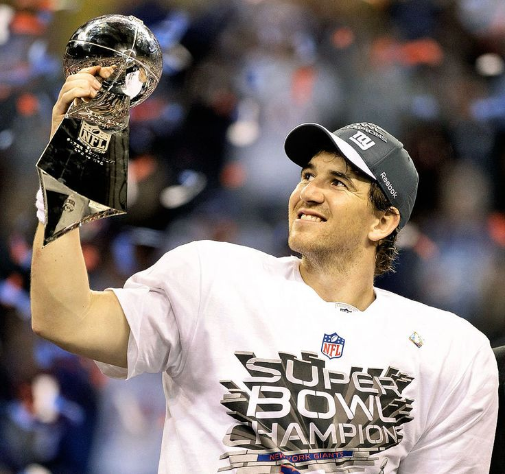 Eli Manning: Support of a children's hospital at the University of Mississippi, Katrina relief, March of Dimes, and college scholarships for students in poverty. Read more at  http://sportsgiftsandbeyond.blogspot.com/2015/07/eli-manning-is-this-weeks.html   #EliManning  #NYGiants