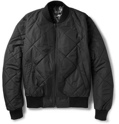 SandroReversible Quilted Bomber Jacket