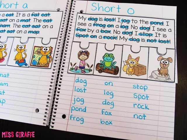 Phonics Fluency Notebooks   Miss Giraffe's Class   Bloglovin'