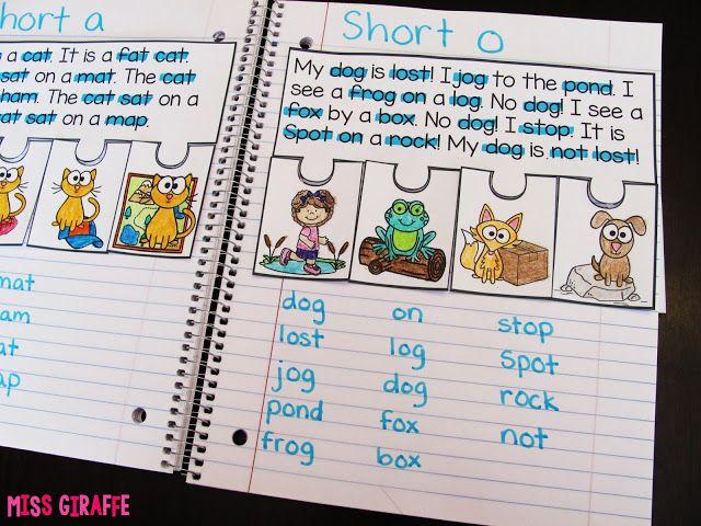 Phonics Fluency Notebooks | Miss Giraffe's Class | Bloglovin'