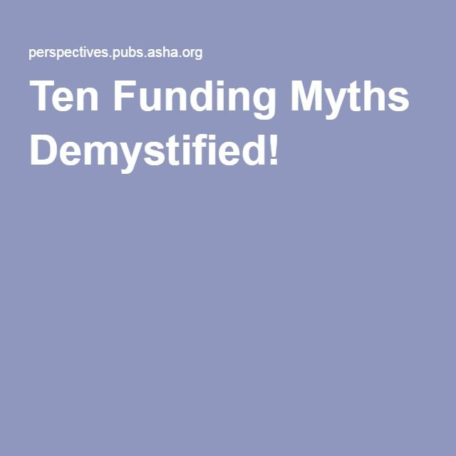 demystifying popular myths about education Iii demystifying the myths of ageing forewords as life expectancy improves, europe is experiencing an increase in the older population often referred to as the demographic time bombthe time bomb suggests that an.