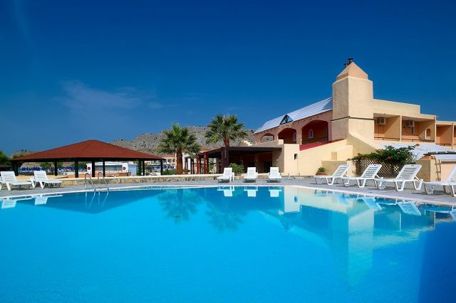 Hotel Sun Beach Lindos, Utazasok Rodosz - INVIA.HU