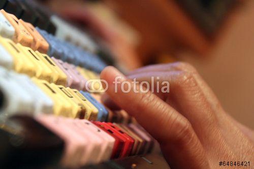 Finger On Keyboard ( download here ) http://us.fotolia.com/p/204830000/partner/204830000