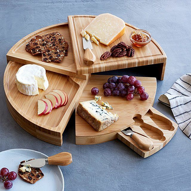 18 Gifts Your Food Loving Friend Will Be Obsessed With Hunker Cheese Board Cheese Knives House Warming Gifts