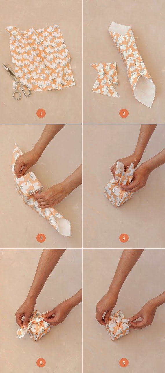 ATELIER CHERRY: Caixinhas embaladas em tecido