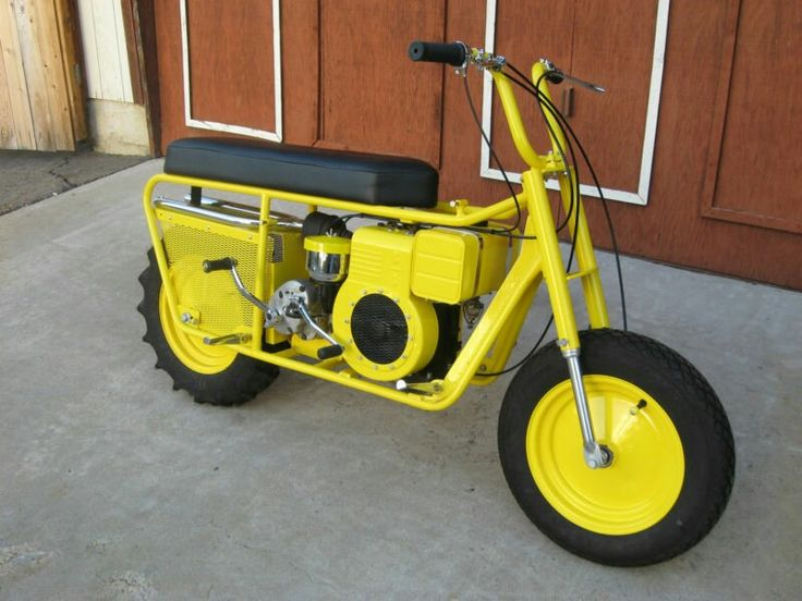 Who didnt want one of these when you were younger ? 1959 MUSTANG TRAILMASTER SCOOTER OR MINIBIKE