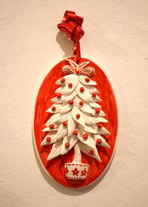 Christmas tree. Christmas ornaments. - ARTESIA Hand-Made Ceramics