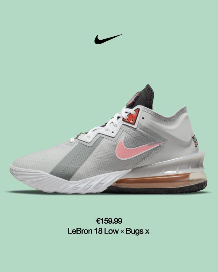 Chaussure de basketball LeBron 18 Low « Bugs vs Marvin ». Nike FR ...