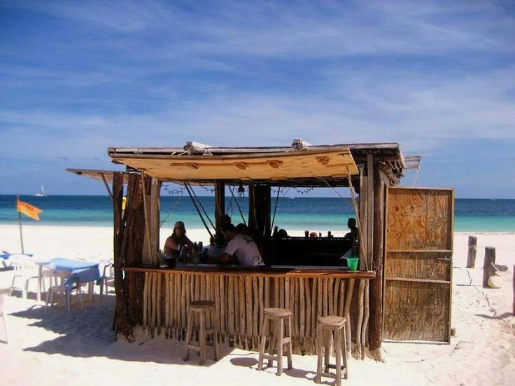 Oh how I love these little beach bars!
