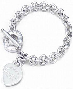 Return to Tiffany & Co Heart Tag Toggle Bracelet
