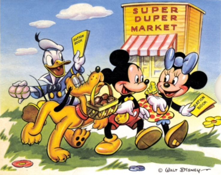 Pin By Ester Fernandez On Mickey Mouse Is In The House Part 9 In 2020 Mickey Mouse And Friends Wwii Posters Disney