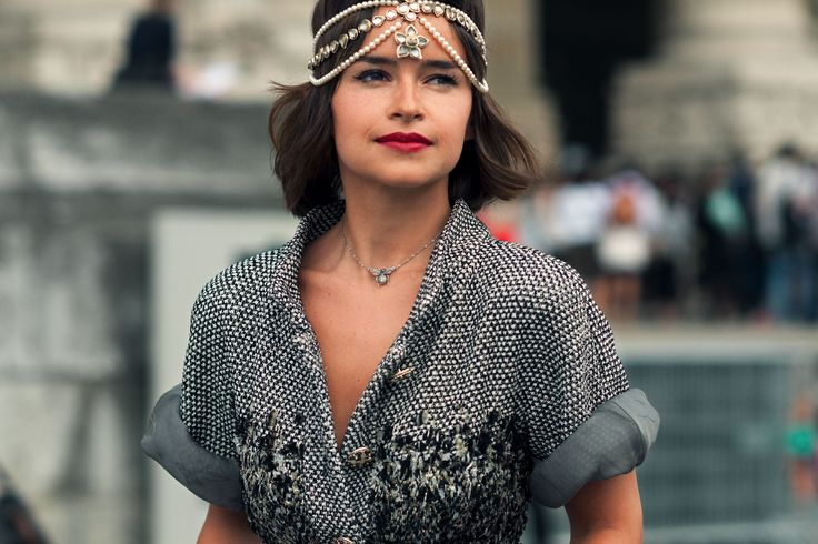 Miroslava Duma - Editor and Founder for Buro 24/7, Founder of Charity Fund, Peace Planet - Wearing: Chanel, Christinan Louboutin, Ulyana Sergeenko, Ostwald Helgason