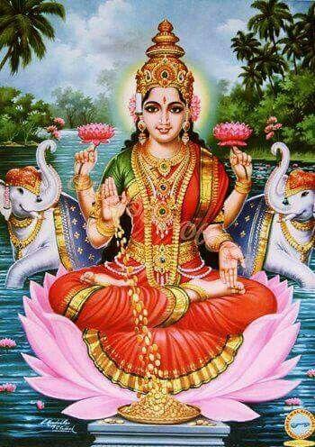 Maha Laxmi | Hindu god B | Durga goddess, Goddess lakshmi ...