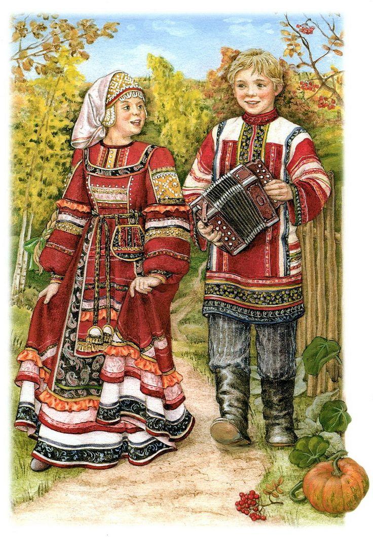 Народная открытка, класс картинки красивые