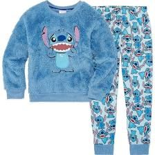 Disney 2-pc. Lilo & Stitch Pajama Set Girls - Girls Size 3 Blue Pajamas