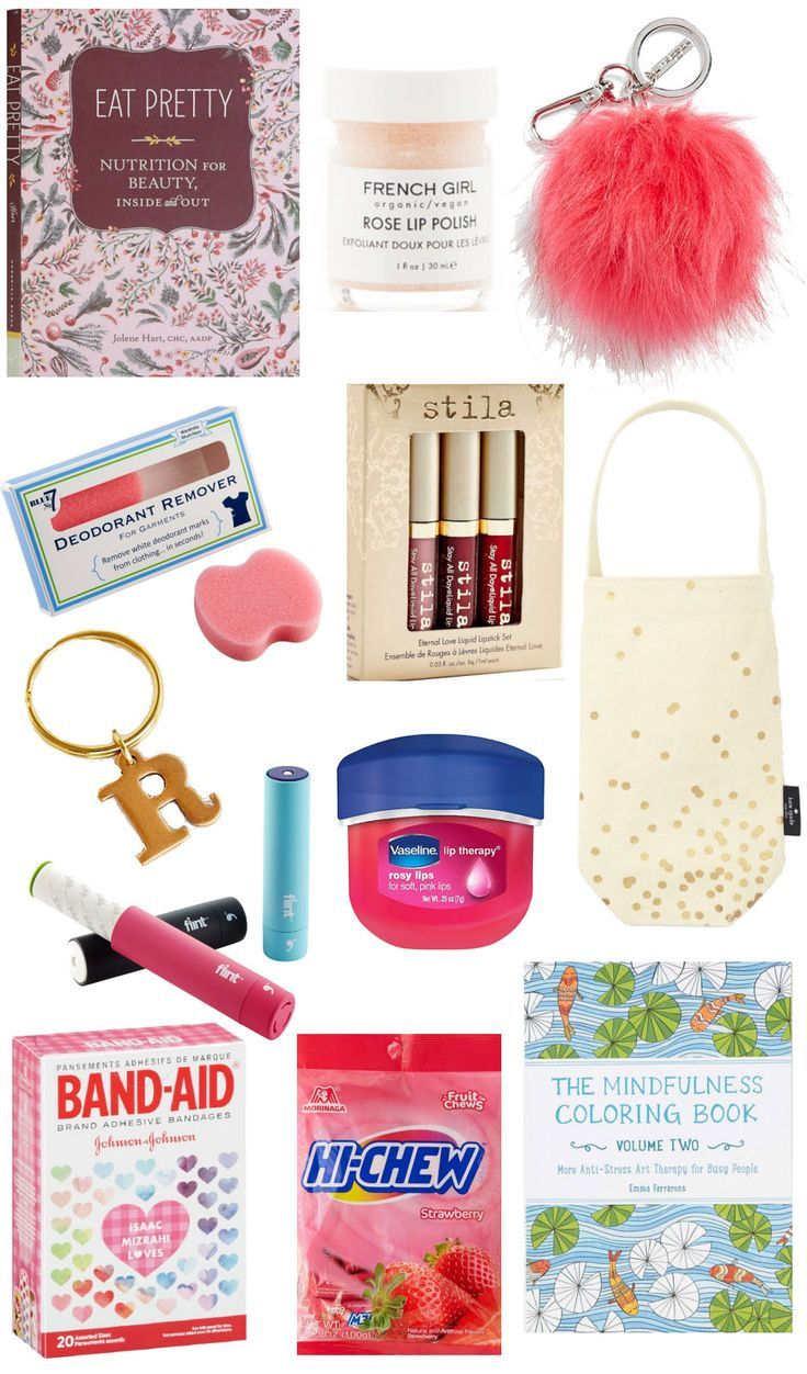 Gift Basket For Teenage Girls: Stocking Stuffers For Her