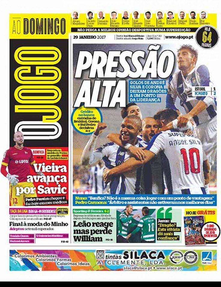 Jornal diário desportivo que segue toda a atualidade desportiva com independência e rigor jornalístico.