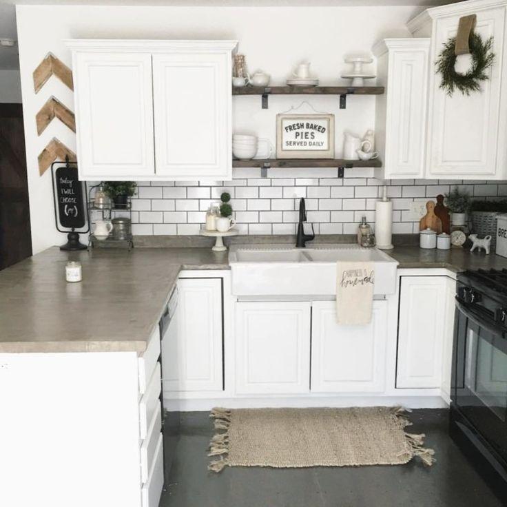 farmhouse kitchen sinks ideas plus what i ended up with kitchen sink decor concrete on kitchen sink ideas id=77705