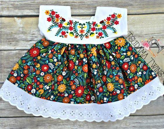Vestidos Mexicanos Para Niñas De Esta Temporada Ropa