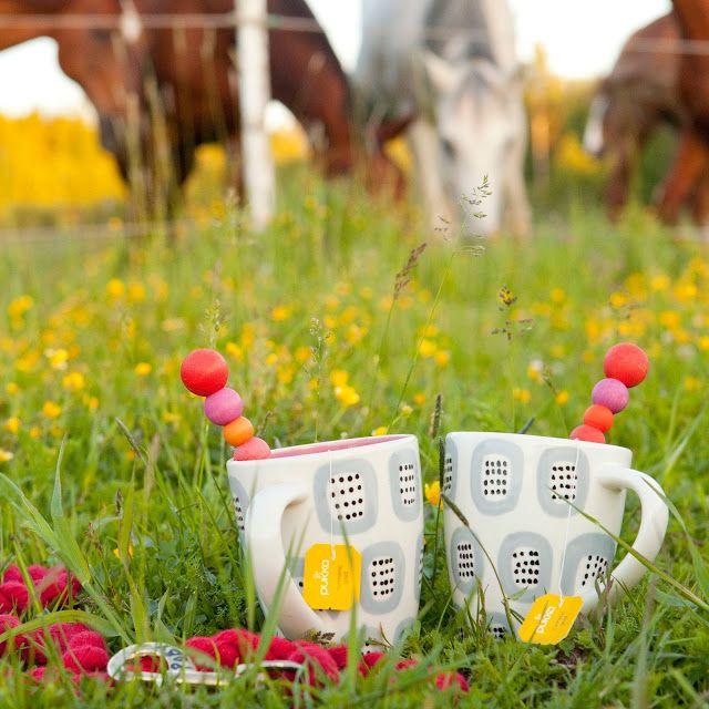 """""""Soup. Tea & Turmeric"""" ⎮ recyclie.blogspot.fi (Photo: Sini Pennanen/ Sininen Kuva) #pukka #pukkatea #aarikka"""