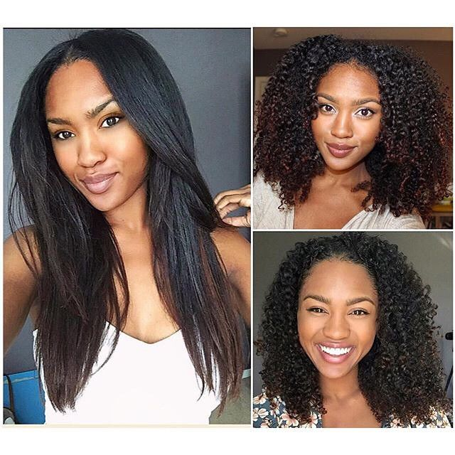 Prime 1000 Images About Hair Curly To Straight Natural Hairampstyles Hairstyle Inspiration Daily Dogsangcom