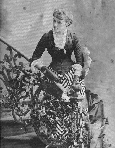 "Edith Wharton, 1884 • ""The persons of their world lived in an atmosphere of faint implications and pale delicacies, and the fact that he and she understood each other without a word seemed to the young man to bring them nearer than any explanation would have done.""  - The Age of Innocence"