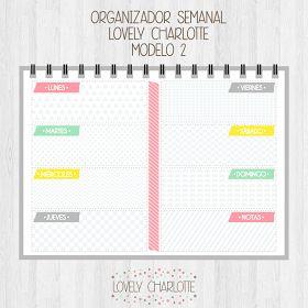 El tema de la organización y la gestión de tiempo me lleva loca! Siempre intento planear lo que tengo que hacer cada semana, pero al final, ...