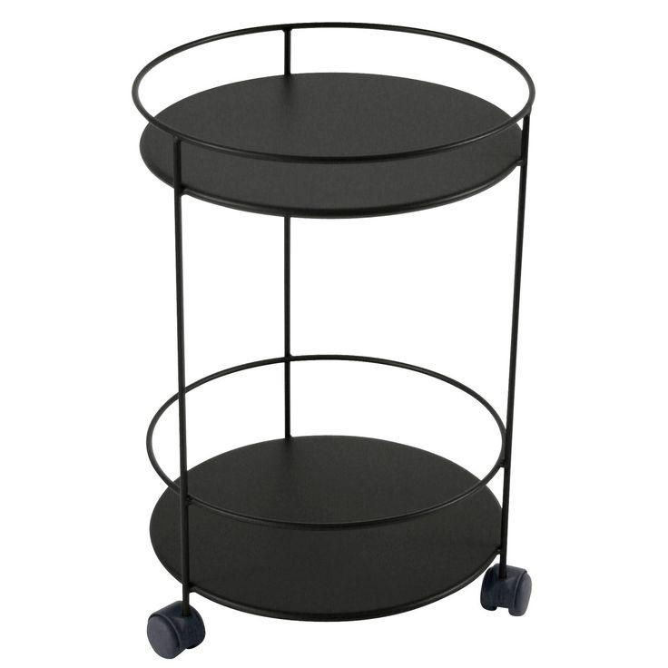Guéridons Wheels bord, liquorice i gruppen Rum / Udendørs / Udendørsmøbler hos ROOM21.dk (106047)
