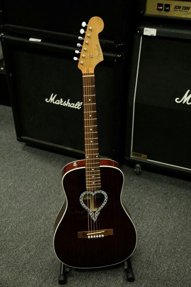 Fender Artist Design Alkaline Trio Malibu Acoustic Guitar Super COOL PLAYER
