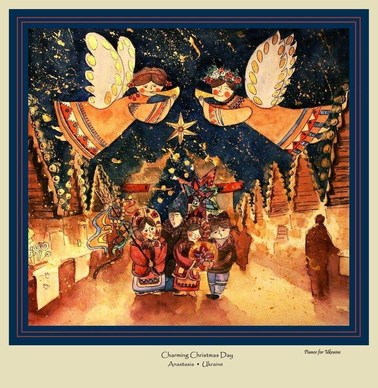 133 best ukrainian christmas images on pinterest ukrainian charming christmas day m4hsunfo