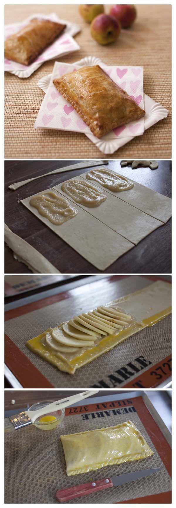 Pommé rennais - comme un chausson aux pommes - Recettes de cuisine