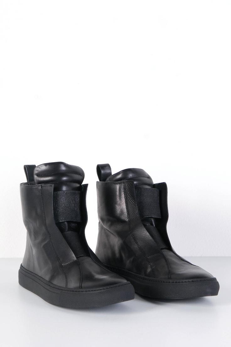 Odeur: Plain Sneaker Black
